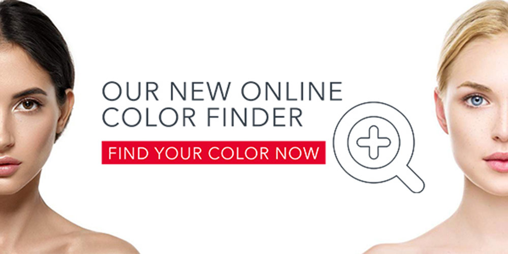 ameia color finder and find your color module with two women