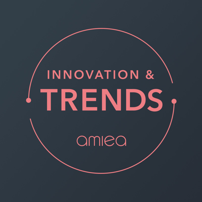 Icon for amiea innovation trend level 2 on a dark grey background