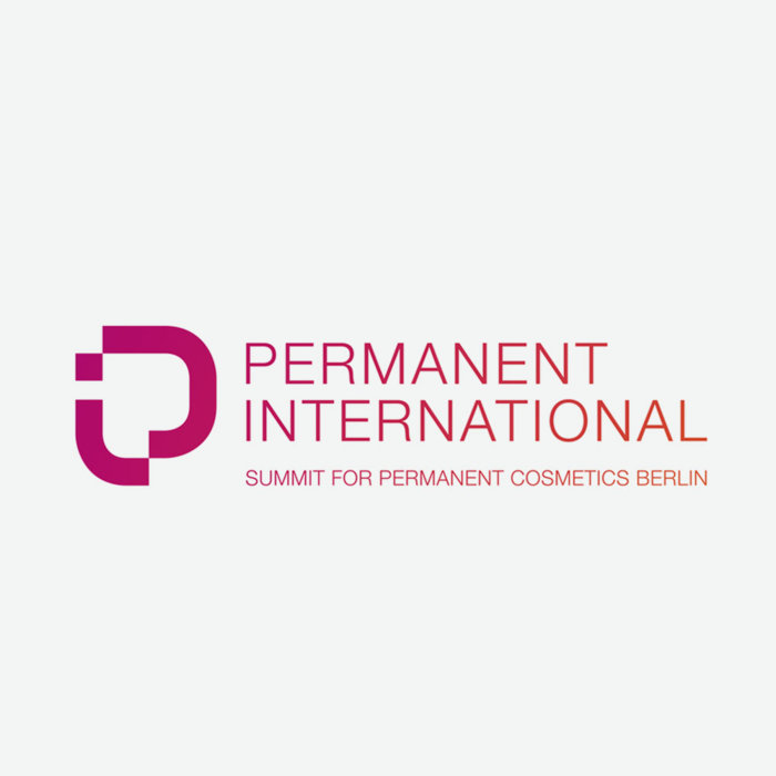 Logo of permanent international congress for permanent cosmetics berlin
