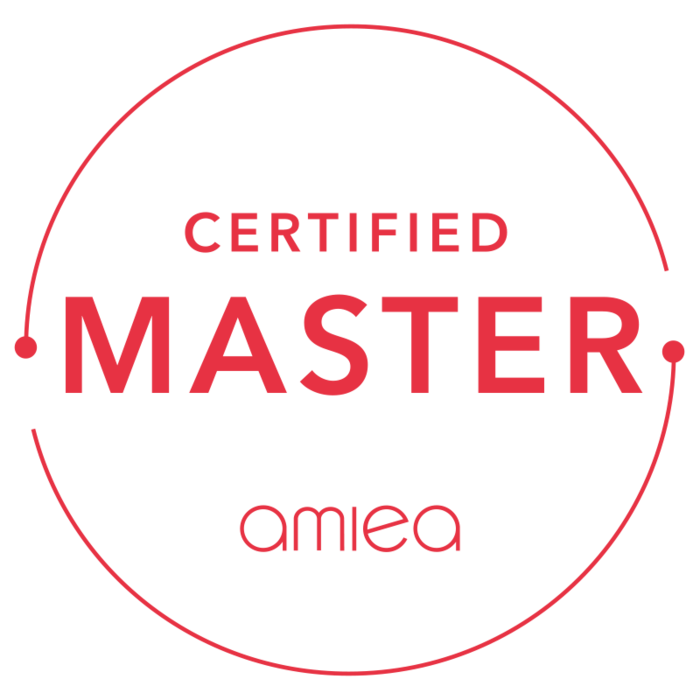 Icon for amiea certified master trainer level 3