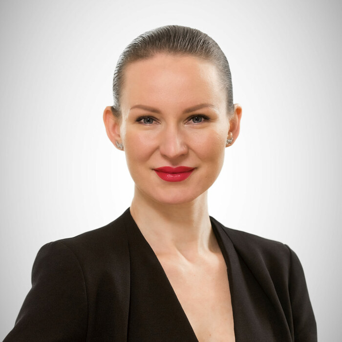 Portrait of Elena Nikora, amiea International Trainer