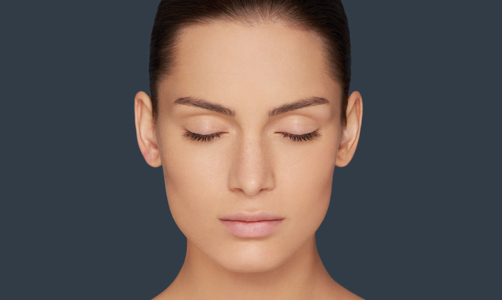 woman before a Permanent Makeup treatment